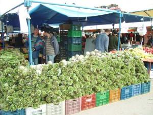 Market day - Artichokes