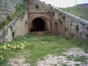 Entrance to Martinengo bastion cannon chamber - Famagusta