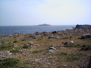 Zafer Adlari (Kleides Islands) from Cape Zafer