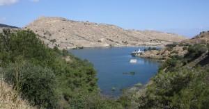 Lefke - Reservoir & Mine Buildings