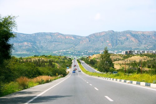 North Cyprus drives on the left like the UK