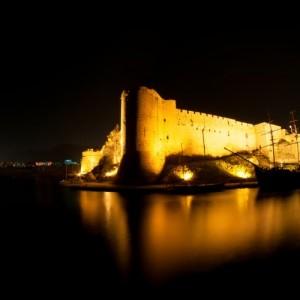 Kyrenia Castle In The Dark