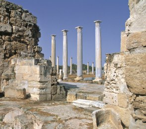 Ancient Ruins, Salamis, Turkish Cyprus